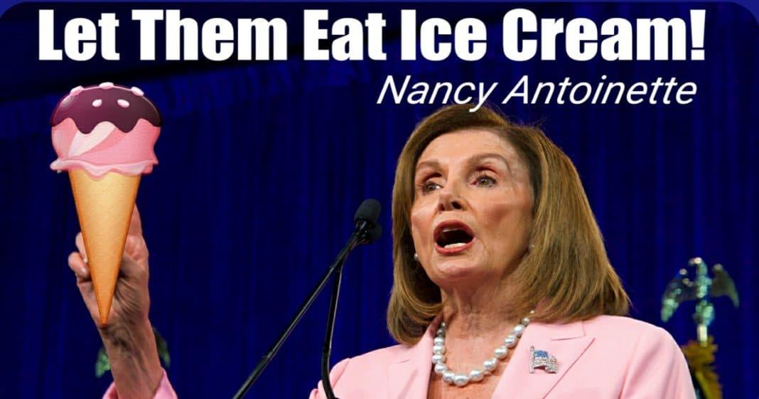 nancy pelosi ice cream