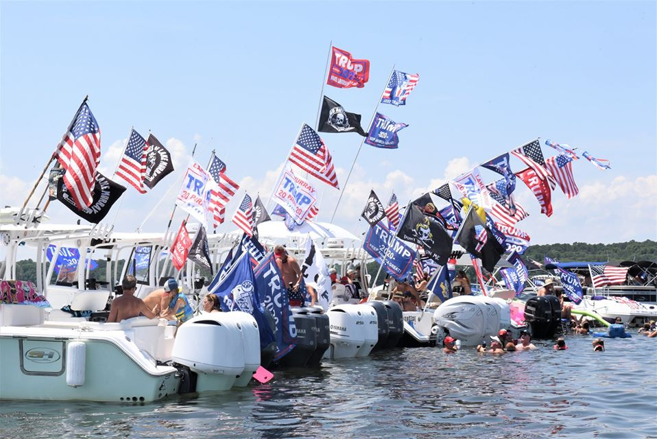 Lake Murray Trumptilla Boat Parade