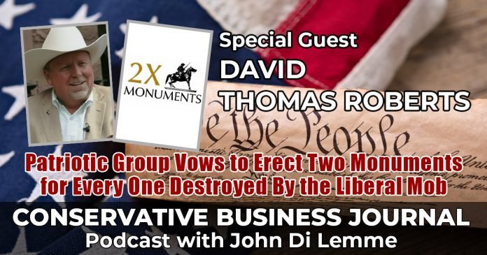 David Robert Thomas 2x monuments