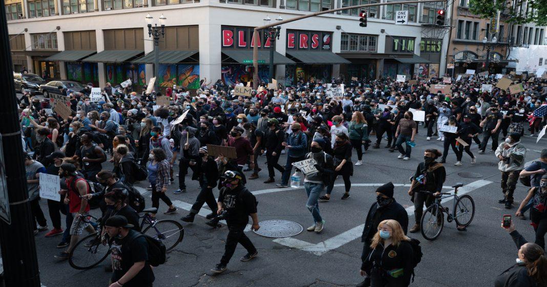 portland oregon riots