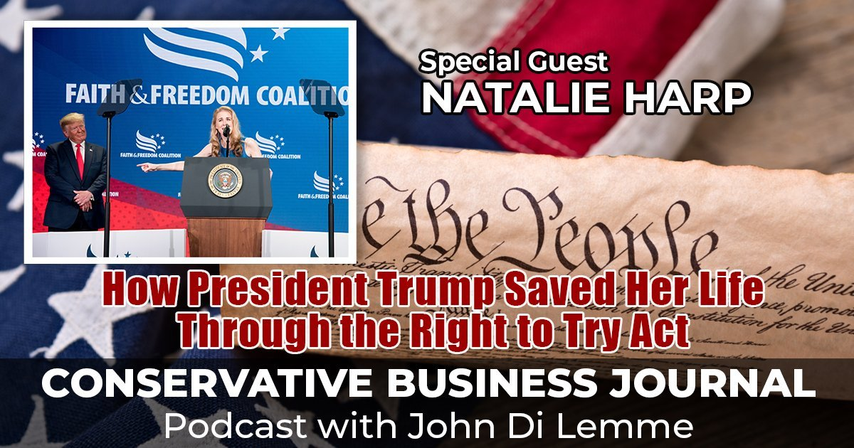 Natalie Harp - Conservative Business Journal Podcast