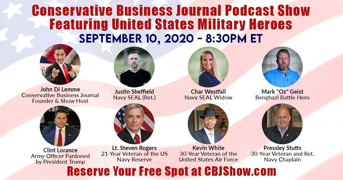 Conservative Business Journal Podcast Show - Military Special