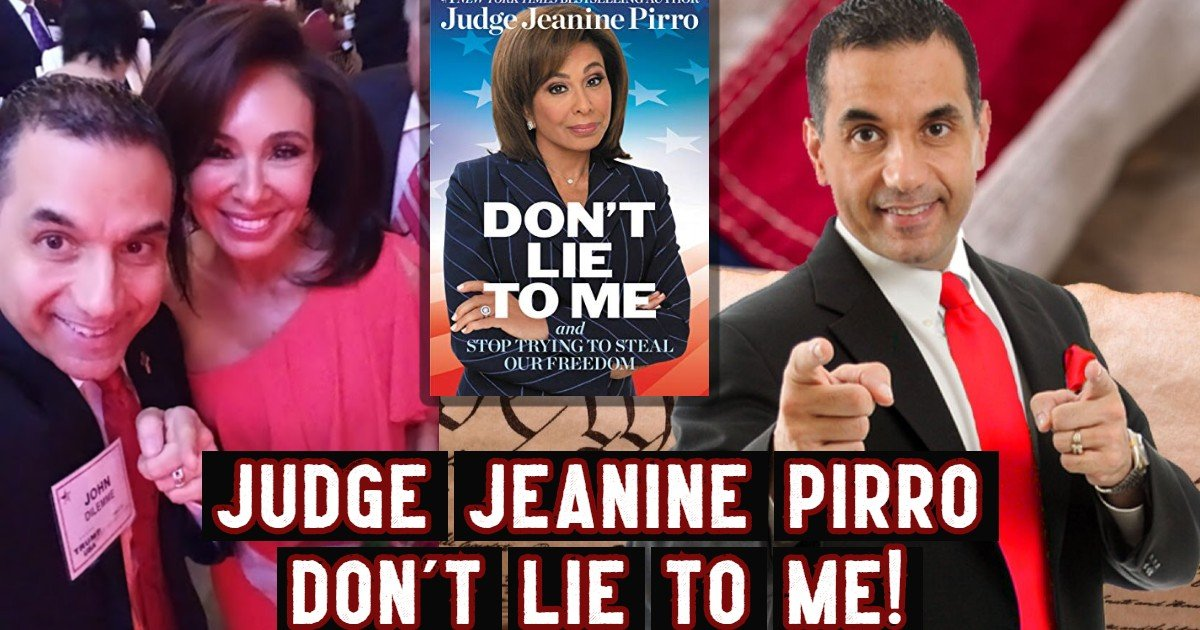 Judge Jeanine Pirro - John Di Lemme - Conservative Business Journal Podcast