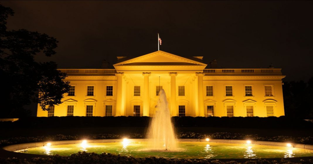 White House - Childhood Cancer Awareness Month
