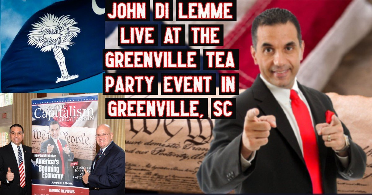 Greenville TEA Party - John Di Lemme