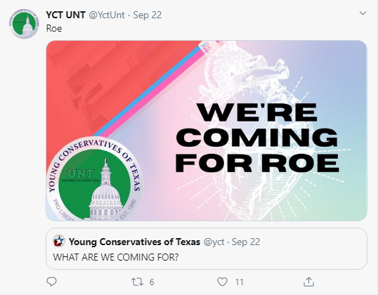 Young Conservatives of Texas - Pro-Life - Conservative Business Journal