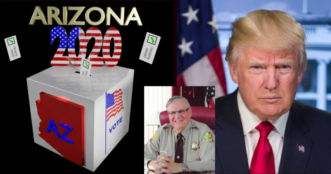 Arizona Maricopa County - Trump - Sheriff Joe Arpaio