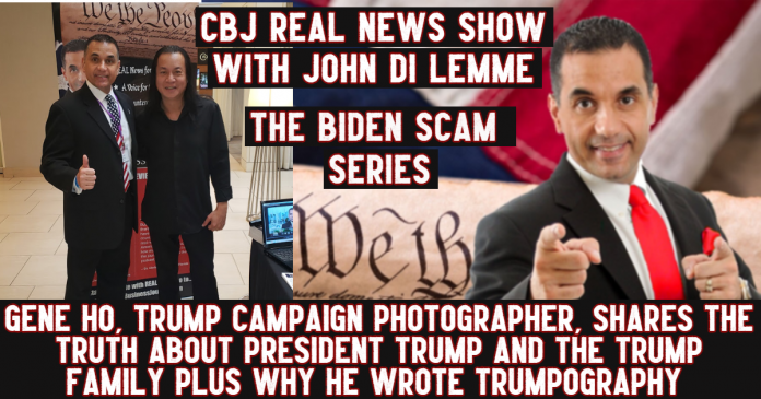 Trump Photographer Gene Ho - Conservative Business Journal - John Di Lemme