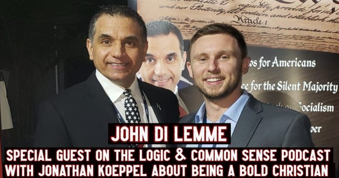 John Di Lemme - Podcast Guest Logic and Common Sense