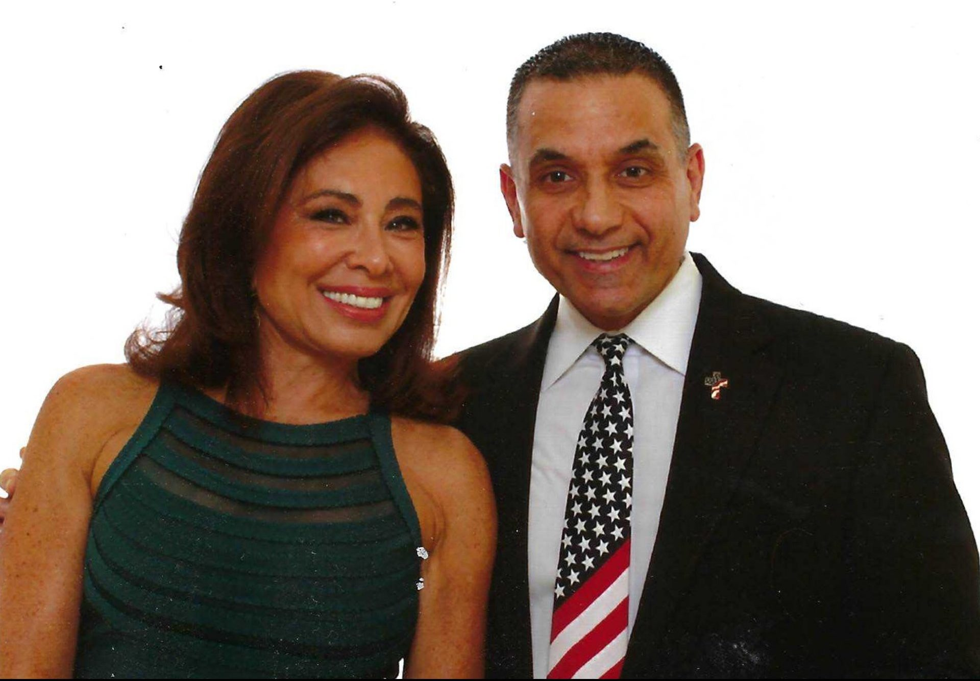 Judge Jeanine Pirro & John Di Lemme, Founder of the Conservative Business Journal