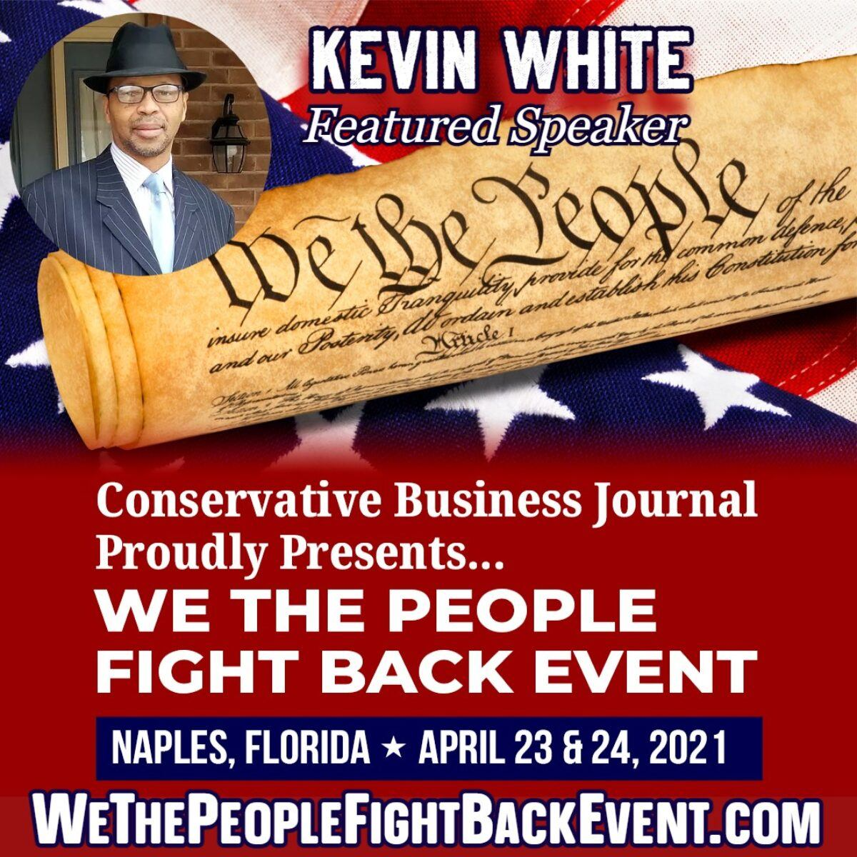 kevin white we the people fight back event