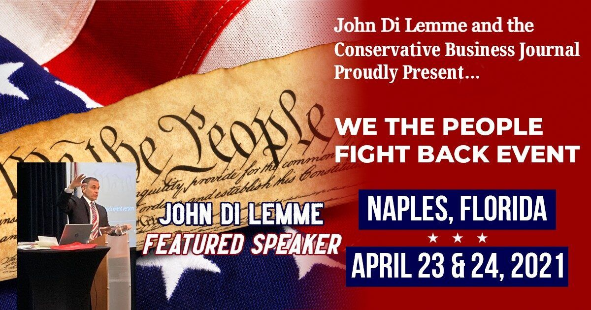John Di Lemme We The People Fight Back Event